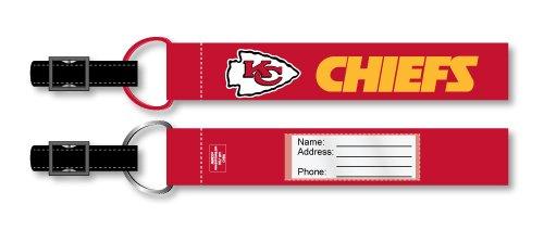 Kansas City Chiefs 2 Packen Gepäckanhängern