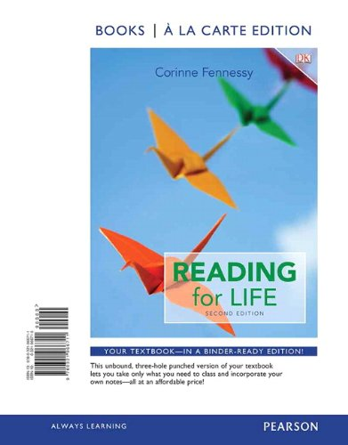 Reading for Life, Books a la Carte Edition (2nd Edition)