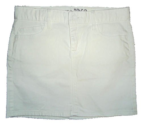 - Gap Kids Girls White Denim Mini Skirt 14