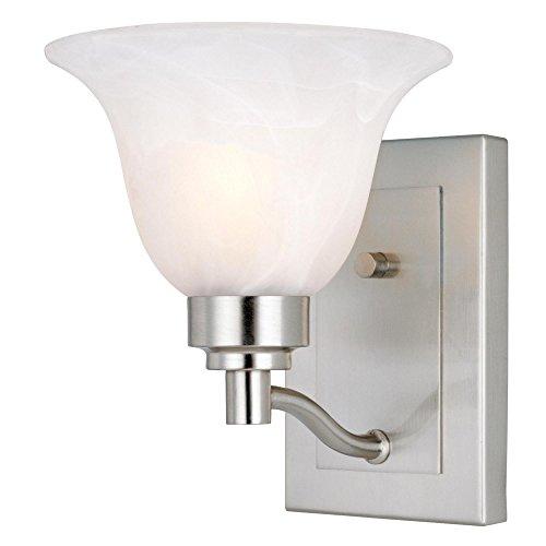 Westinghouse Lighting Corp 66647 1-Light Light Fixture, Brus