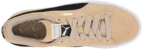 Puma Mujeres Suede Classic Wn Sneaker Pebble-puma Black