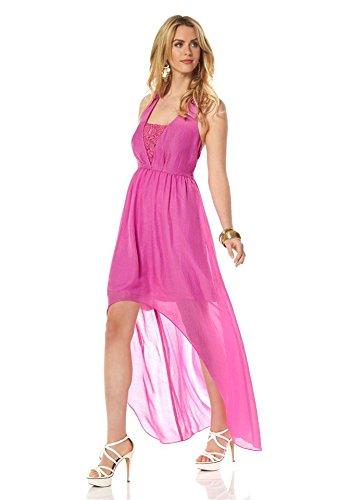 pink Jessica Simpson Pink Abendkleid Neckholderkleid zqwta6Wx