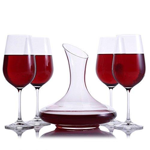 Mozart-Wine-Decanter-5pc-Stemmed-Set-by-Crystalize