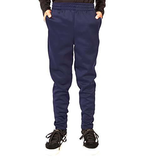 Stretch Is Comfort Boy's Slim Fit Jogger Play Pant Navy Blue X-Large