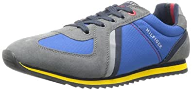 Tommy Hilfiger Men's Fairfield Sneaker,Medium Blue,7 M US