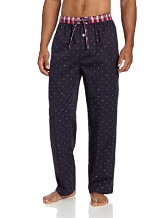 Tommy Hilfiger Men's Microflag Sleep Pant, Sailor Navy, Small