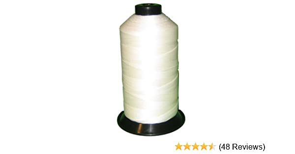 Amazon com: Bonded Nylon Sewing Thread Size #138 T135