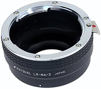 rayqual Mount Adapter for Micro Four Thirds Body to EXAKTA Lens Made in Japan Kindai