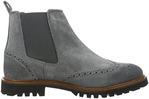Flat Boots Femme Marc 920 Chelsea O'polo Heel grey Gris Grau Ip55qw4x