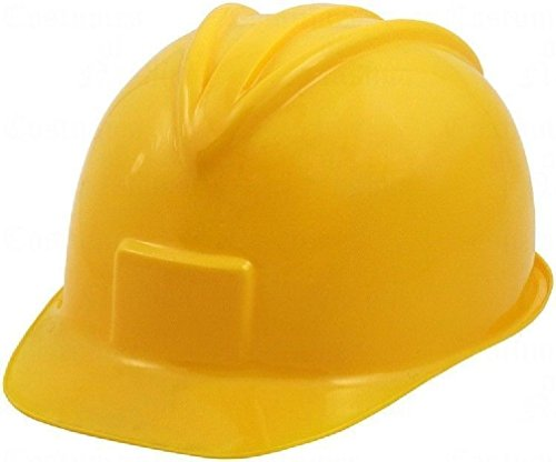 [Construction Hat Helmet Yellow Hard Plastic Worker Miner Hardhat Adult Child] (Man Construction Worker Costume)
