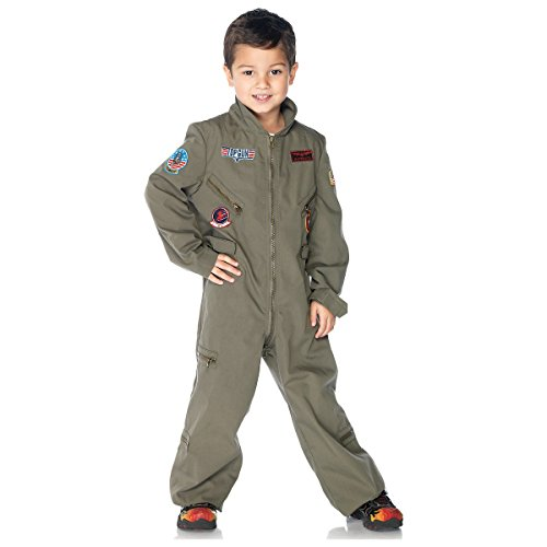 Top Gun Boys Flight Suit Costume - Large - Maverick And Goose Kid Costumes