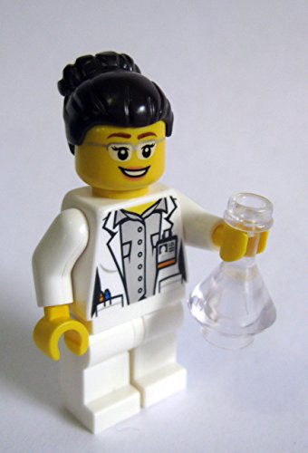 Female Scientist Minifigure Custom Utensil