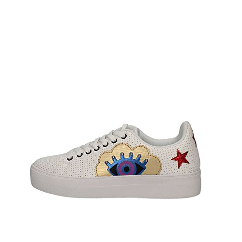 Desigual Blanco Sneakers Women Desigual 18SSKP26 18SSKP26 wxq1Ua0Y1