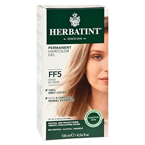 (Flash Fashion Sand Blonde FF5 Herbatint 130 ml Liquid)
