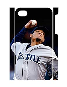 Customized Famous Sports Boy Shot Anti Slip Phone Cover for Iphone 4 4S