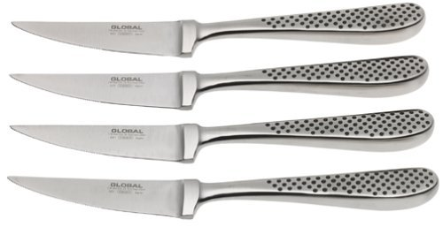 (Global GTF-4001-4 Piece Steak Knife Set)