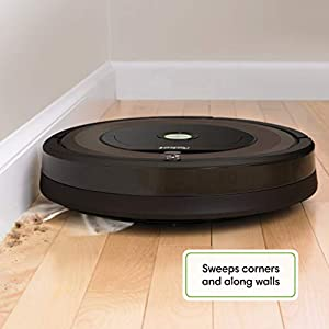 iRobot Roomba 890 Robot Vacuum- Wi-Fi Connected, Works with Alexa, Ideal for Pet Hair, Carpets, Hard Floors