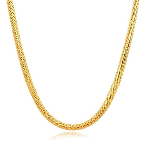 Long Way Plated Jewelry Necklace