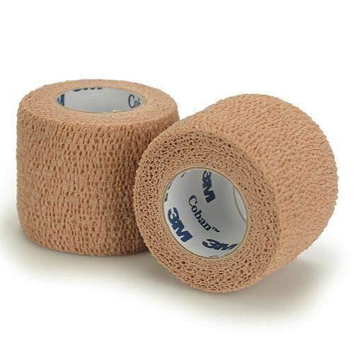 Latex Free Compression Wrap - 3M Coban LF Latex Free Self-Adherent Wrap, 5 Roll (Pack of 1)