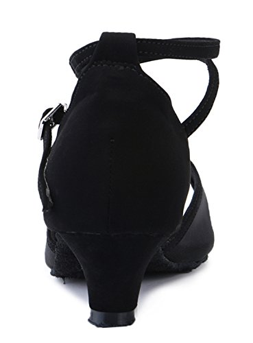 3 Jazz MGM de Y 5cm Black Heel Joymod Mujer Ante Contempóraneo fBB8xTFwq