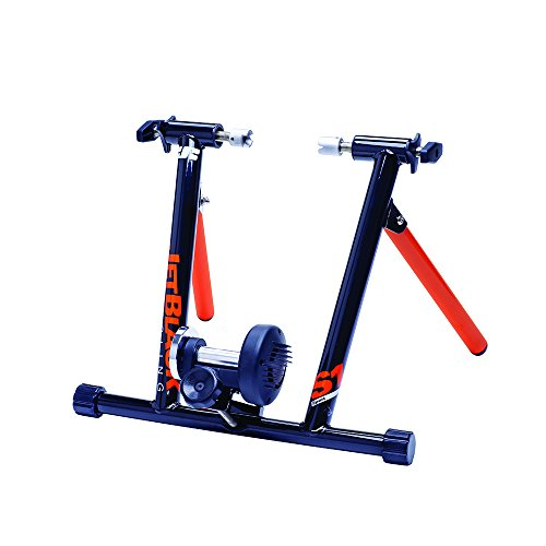 jet black cycling trainer - 1