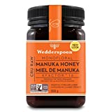 Wedderspoon Non-GMO Organic Raw Monofloral KFactor 16 Manuka Honey, 17.6 Ounce Jar (500g)