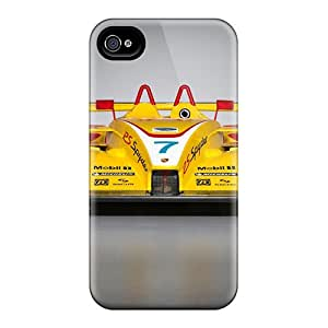 Iphone 4/4s Case Bumper Tpu Skin Cover For 2008 Porsche Rs Spyder Front Accessories