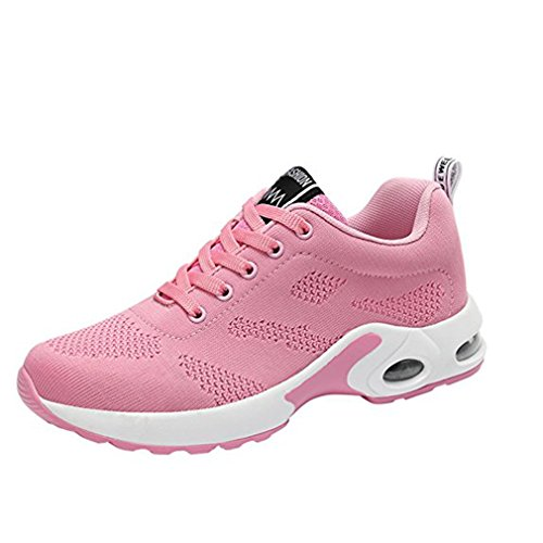 Fitness Marche Léger Baskets Femmes Rose Wysbaoshu Chaussures Iqzw8t