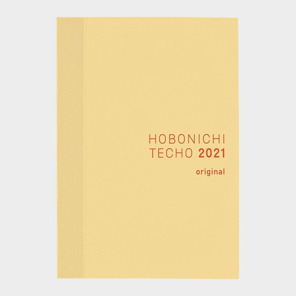 Japanese//A5//Jan 2021 Start Apple Green Gingham Hobonichi Techo Cousin Book /& Cover Set