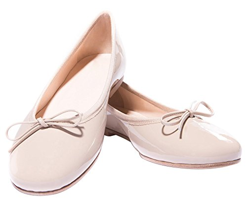 QIAN on Round tie 5 Casual ZULIAN 14 Size Comfort Pumps for Slip Head Pink Bow Light Flats US Shoes Women xwrRx