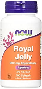 NOW Royal Jelly 300 mg,100 Softgels