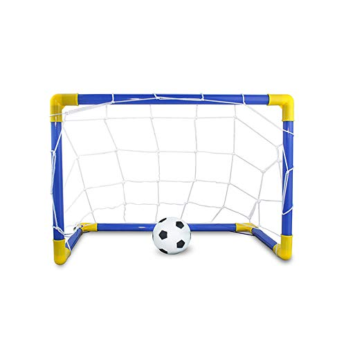 Metal Dragon 77th Multi-Function Portable Detachable Soccer Goal Set Football Game Indoor Outdoor Sports for Kids Easy Fold-Up (Difference Between Futsal Ball And Soccer Ball)