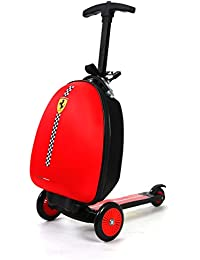 Kids Scooter Luggage, Red