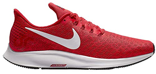 - Nike Men's Air Zoom Pegasus 35 Running Shoes, Red/White (US 11, University RED/White-Tough RED-Black)
