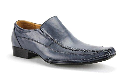 Alberto Fellini Men's Carlos 03 Classic Slip On Dress Loafer Shoes