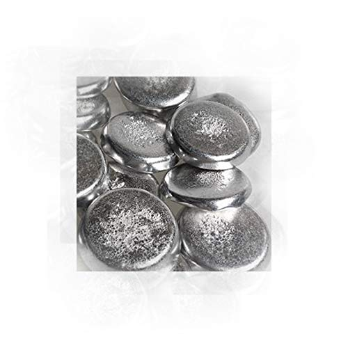 Fieldsches Metall/Field's Metal - niedrig schmelzende Legierung aus Indium, Bismut, Zinn 100 g, cadmiumfrei, bleifrei, Gussmetall Eutektikum