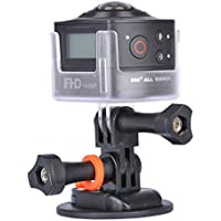 DEESEE(TM) AMKOV AMK100S 360 Degree 8MP 1440P WiFi Action Camera without Waterproof Case