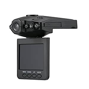 2.5 Inches Rotatable LCD Screen Portable 6 LEDs Light DVR Video 120 Degree Angle Night Vision Recorder Camera