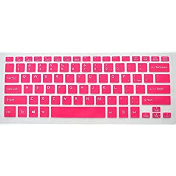 CaseBuy High Quailty Ultra Thin Soft Silicone Keyboard Cover Protector for Sony VAIO Fit 14 14E SVF14 SVF14A Series / VAIO Pro 13 SVP13 Series / VAIO Flip 13 Fit 13A Flip PC SVF13N Series / VAIO Flip 14 Fit 14A Flip PC SVF14N durable modeling