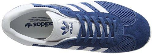 adidas Men's Gazelle Low-Top Sneakers, Pink, One Size Blue (Core Blue/Footwear White/Core Blue)