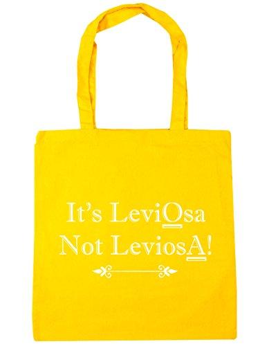 Yellow Tote Not It's 42cm 10 Shopping LeviosA HippoWarehouse Quote Bag litres x38cm Beach LeviOsa Gym xg4wqpC6