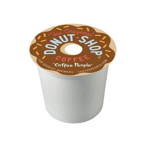 The Original Donut Shop Coffee K-Cups for Keurig Brewers (Regular - Medium Roast Extra Bold, 72-Count) by Donut Shop Classics