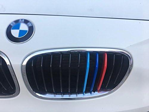 B M w S/érie 1/2012 2014/11/Grill F20/F21/Rein Grille Clip en /à rayures Rayures Coque Trim Boucle D/écor M Power M Sport Tech Bonnet