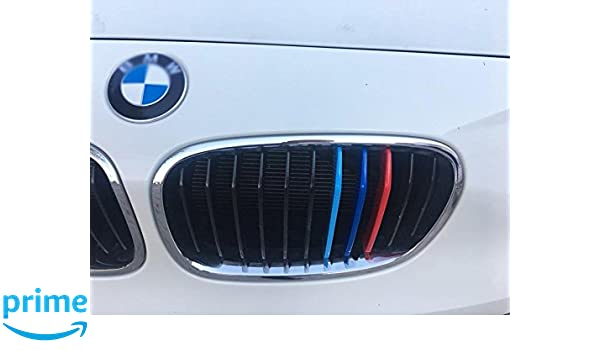 M Sport Kidney 11 Grill Grille Cover Decal Clip Strip For BMW 3 Series F30