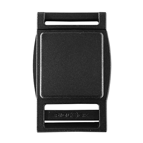 Fidlock Magnetic Buckle Quick Release Replacement Buckle - Black (25mm) (Pack of 1)