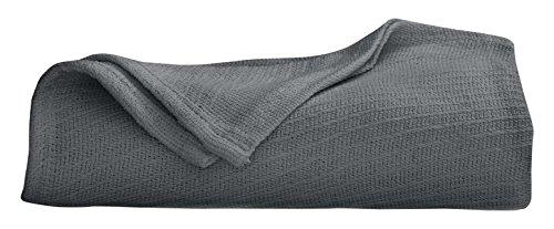 Martex Cotton Woven Blanket, Full/Queen, Quiet ()