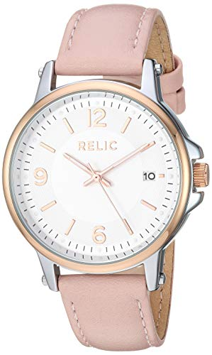 - Relic by Fossil Women's Matilda Quartz Watch with Alloy Strap, Pink, 16 (Model: ZR34565)