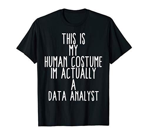 Human Costume Data Analyst Big Data Science Analysis Storage