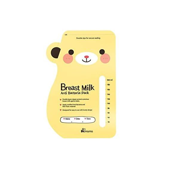 Breast Milk Storage Bag Anti Bacterial Pre-Sterilized - Pack of 30 Bags