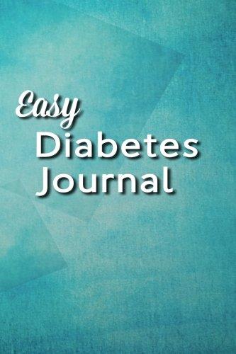 Easy Diabetes Journal: Tranquil Blue ebook